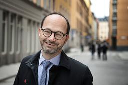 Infrastrukturminister Tomas Eneroth (S). Arkivbild