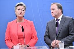 När riksdagen öppnar på tisdagen blir det klart vem som statsminister Stefan Löfven (S) ska sätta på stolen som arbetsmarknadsminister efter Ylva Johansson (S), som far till Bryssel och EU-kommissionen. Arkivbild.