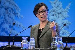 Kabinettssekreterare Annika Söder är Margot Wallströms högra hand på UD och ingår i spekulationerna om vem som blir ny utrikesminister. Arkivbild.