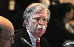 John Bolton fick nyligen sparken som nationell säkerhetsrådgivare i Trumps regering, enligt uppgift på grund av motsättningar om USA:s politik gentemot Iran. Arkivbild.