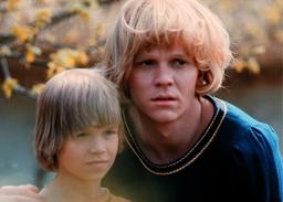 Lars Söderdahl och Staffan Götestam spelade bröderna i filmatiseringen av Astrid Lindgrens 'Bröderna Lejonhjärta'. Arkivbild.