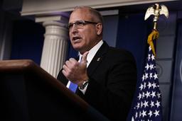 Mark Morgan, chef för USA:s gräns- och tullmyndighet (CBP).