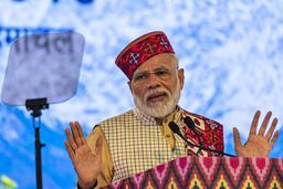 Indiens premiärminister Narendra Modi välkomnar beslutet från högsta domstolen. Arkivbild.