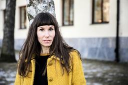 Författaren Mirja Unge prisas. Arkivbild.