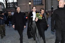 Sara Danius lämnade posten som ständig sekreterare i Svenska Akademien den 12 april 2018. Bakom kulisserna hade en maktkamp utspelat sig mellan ledamöterna i Akademien. Arkivbild.