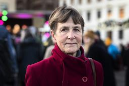 Katarina Jansén, Göteborg, hoppas att en bred folkrörelse ska få politiker att agera för att rädda jordens klimat.