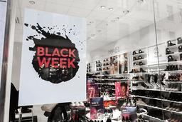 Black Friday är fortsatt störst, men mest ökar köpen dagarna före fredag, under den så kallade Black Week. Arkivbild.