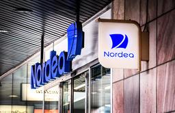 'Generellt kan man säga att de stora företagen betalar en inlåningsränta som reflekterar marknaden', skriver Nordeas presstalesperson Carl Hemeren till TT. Arkivbild