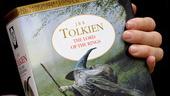 Bokomslaget till 'The lord of the rings', eller 'Ringarnas herre', som den kallas i den svenska nyöversättningen. Arkivbild.