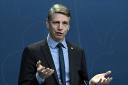 Per Bolund (MP), språkrör och finansmarknads- och bostadsminister. Arkivbild.