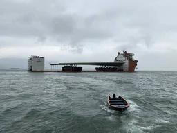 Fartyget har på grund av sin konstruktion låg tolerans för vågor.