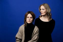 Emma Adbåge och Lotta Olsson gör en bokserie om känslor, för de yngsta. Först ut är 'Ledsen', och nästa år kommer en bok om glädje. Pressbild.