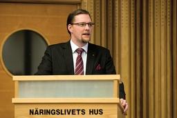Günther Mårder, vd för Företagarna, är överlag nöjd med regeringens paket. Arkivbild.