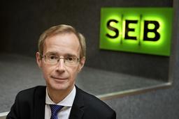 Robert Bergqvist, SEB:s chefsekonom. Arkivbild.