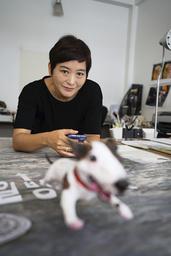 'Jag kan fortfarande inte tro att det här sant' säger Baek Heena som inte har en aning om vad hon ska göra med prispengarna. Pressbild.