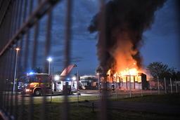Ett viktigt meddelande till allmänheten (VMA) sändes under natten ut på grund av brandrök över centrala Borlänge.