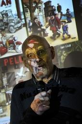 Jan Lööf, när han tilldelades Astrid Lindgren-priset 2011. Arkivbild.