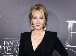 'Harry Potter'-författaren JK Rowling har dammat av en gammal sagobok hon skrev för tio år sedan. Arkivbild.