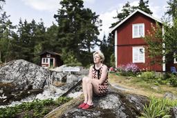 Den norska författaren Beate Grimsrud har avlidit efter en tids sjukdom. Arkivbild.