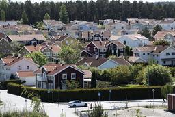 Det finns ingen stor coronaeffekt att tala om på bostadsmarknaden menar SBAB:s chefsekonom Robert Boije. Arkivbild.