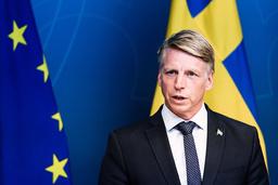 Miljöpartiets ena språkrör Per Bolund. Arkivbild.