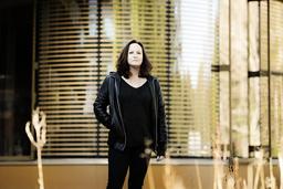 'Jag hoppas ju att 'Bärarna' är att försvarstal för mannen som individ, för den gode mannen, för maskulinitet som något positivt', säger Jessica Schiefauer. Pressbild.