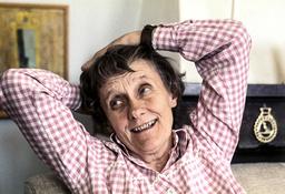 Astrid Lindgren 1976. Arkivbild.