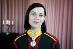 Elin Anna Labba är en av deltagarna när Göteborgs Litteraturhus uppmärksammar minoritetsspråk på den Internationella modersmålsdagen. Arkivbild.