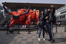 Råttans år har nu övergått till oxens år i samband det kinesiska nyårsfirandet.