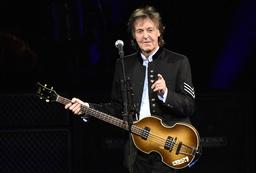 Paul McCartney ger ut sina memoarer i höst. Arkivbild.