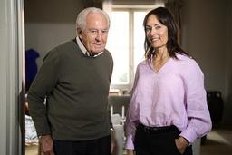 Jan Carlzon och Nadia Dyberg.