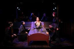 När Västanå teater öppnar för publik igen gör de det med en uppsättning av Selma Lagerlöfs 'Körkarlen'.