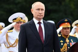 Boken 'Putins krets' av journalisten Catherine Belton handlar om Vladimir Putins väg till makten. Arkivbild.