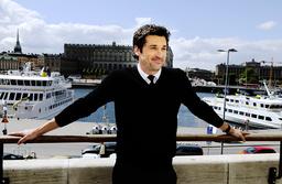 Skådespelaren Patrick Dempsey på ett besök i Sverige 2008. Arkivbild.